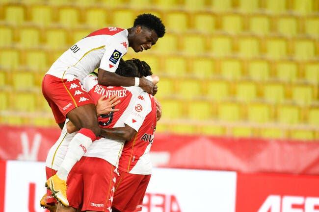 L1 : 3 buts en 3 minutes, Monaco explose Bordeaux