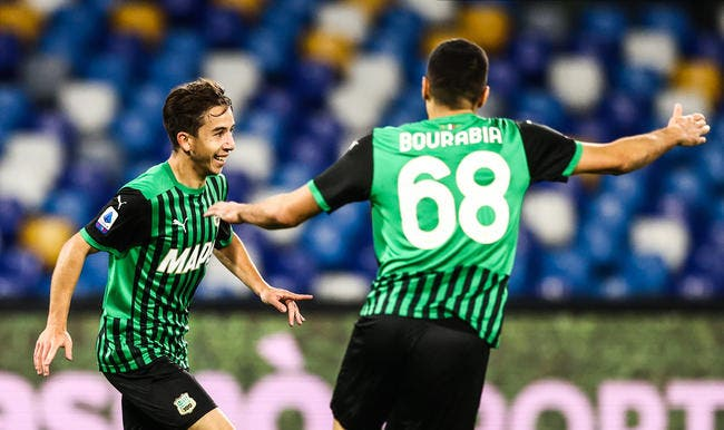 Serie A : Sassuolo carbure, Maxime Lopez choque l'Italie