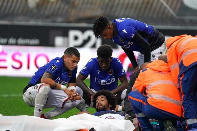 Saison terminée pour Dante — Nice