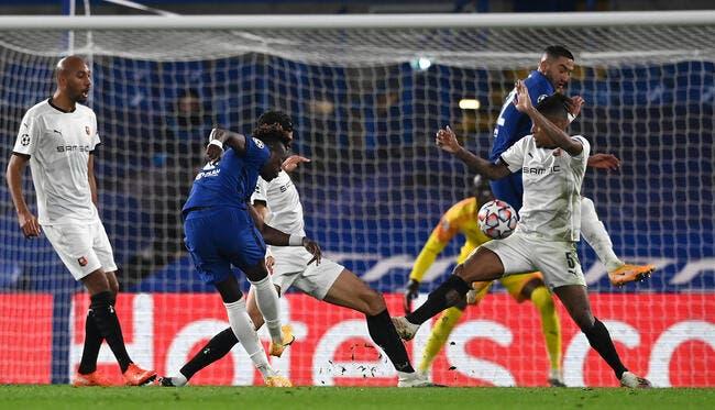 LdC : Rennes balayé à Chelsea