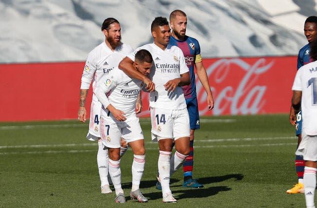 Real Madrid : Hazard et Casemiro positifs au Covid