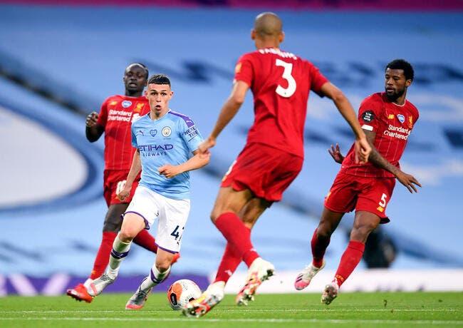 Manchester City - Liverpool : Les compos (17h30 sur C+Sport et RMC)