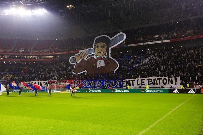 OL : Lyon refuse des supporters en carton contre l'ASSE