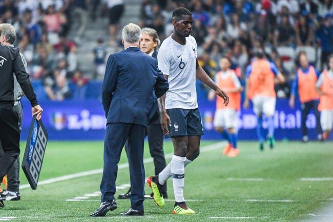 EDF : Boycotté à Man Utd, Pogba peut compter sur Deschamps