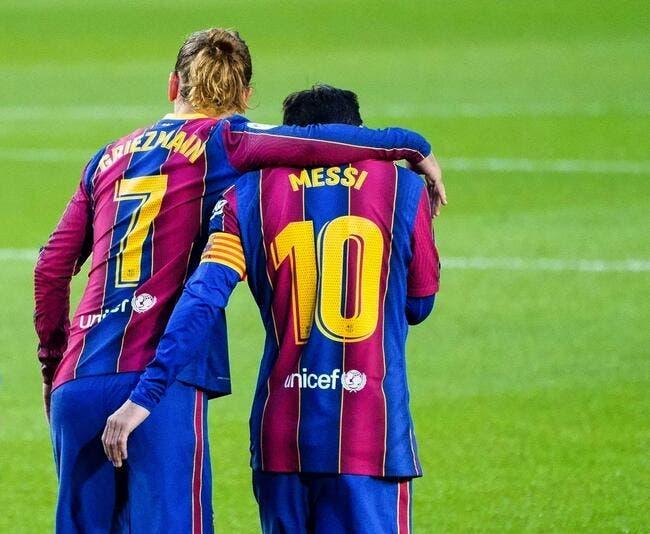 Esp : Griezmann humilié par Messi, sale coup à Barcelone !