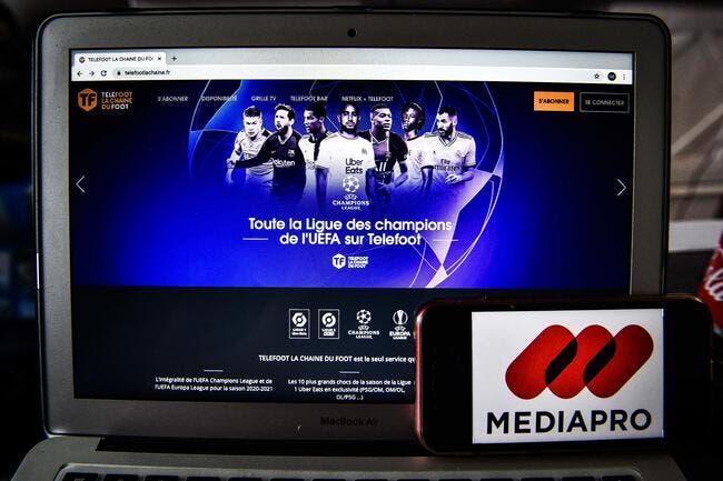 TV : 1 milliard par Mediapro, la Ligue 1 va s'asseoir dessus !