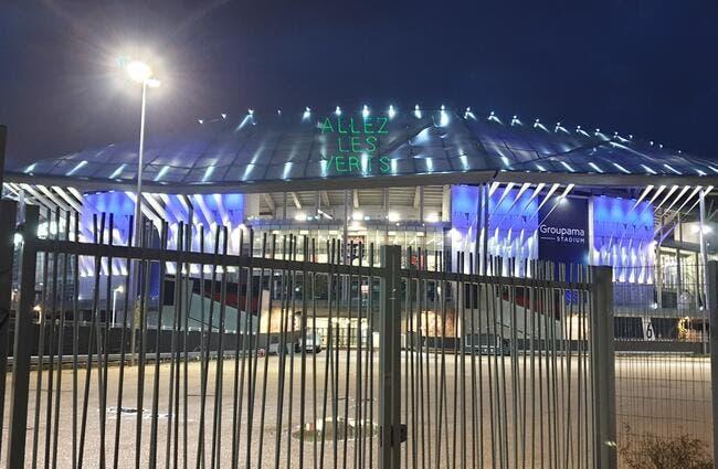 OL : « Allez les Verts » au Groupama Stadium, la provoc du derby !