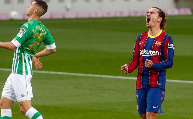 Esp : Griezmann sauvé, Barcelone envoie un bon signal !