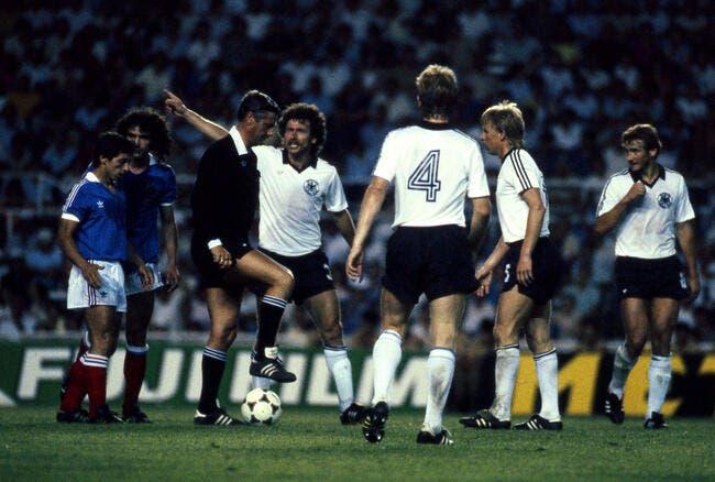 Foot : L'arbitre de France-Allemagne 1982 est décédé