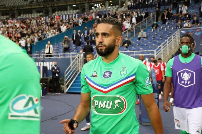 ASSE : Boudebouz, l'atout algérien pour sauver Saint-Etienne ?