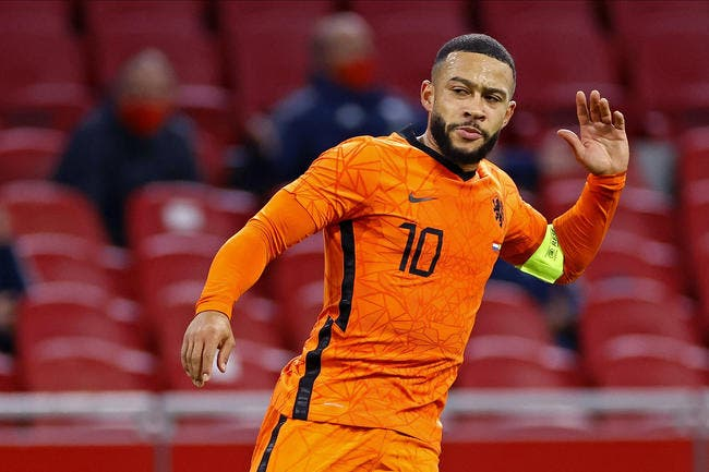 Memphis Depay marque, les Pays-Bas leaders — LdN
