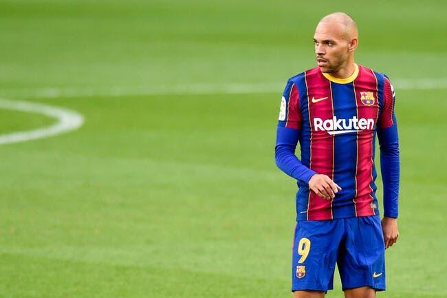 Esp : Le Barça n'en veut plus, Braithwaite ne lâche pas l'affaire !