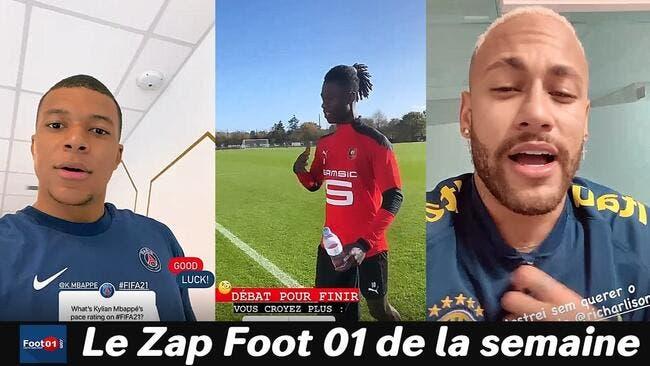 Mbappé fait du sale sur FIFA 21, Ruiz-Atil déchainé avec le PSG , le cassage de reins d'Alioui