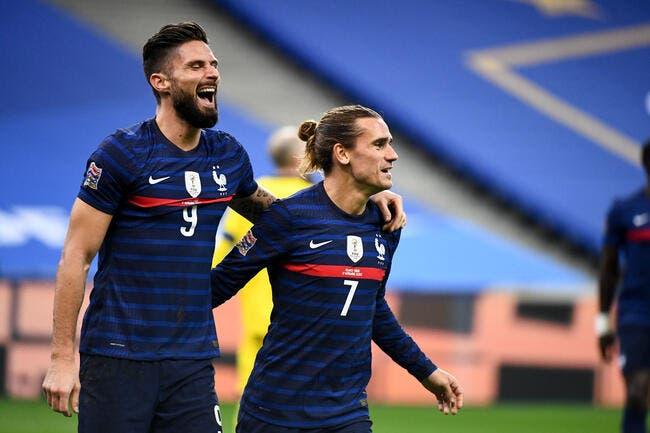 EdF : Les Bleus terminent en beauté, Giroud en patron