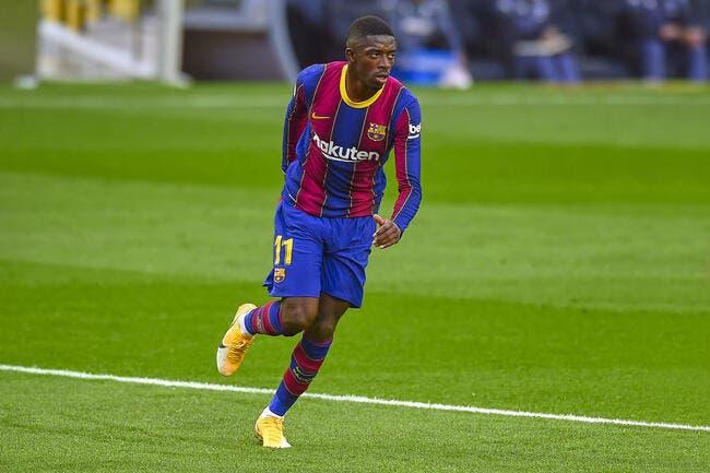 Esp : Dembélé prolongé, le Barça n'a pas le choix