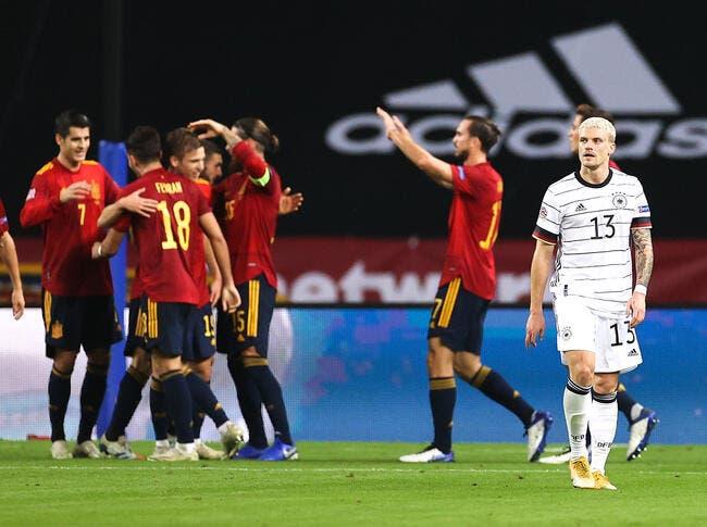 LdN : L'Espagne humilie l'Allemagne, c'est du jamais vu