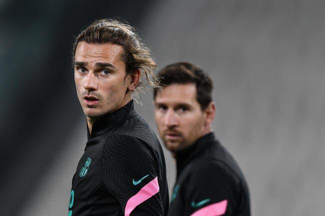 Esp : Messi et Griezmann, ça chauffe déjà au Barça !