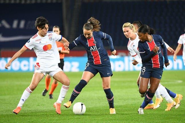 D1 féminine : Le PSG tape l'OL et prend la tête