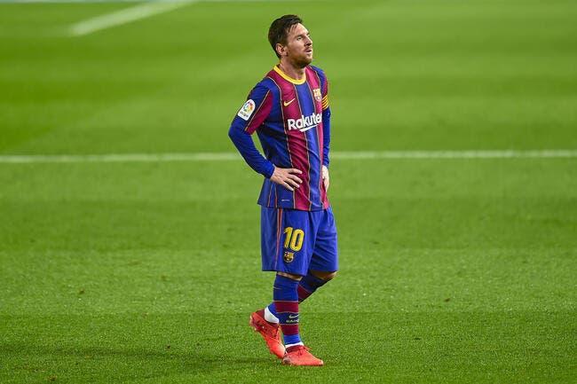 Esp : Lionel Messi est un fantôme, alerte rouge à Barcelone !