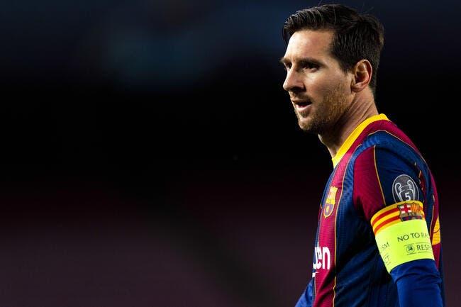 Esp : Messi craque, sa tête n'est plus à Barcelone !