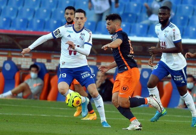 À l'issue d'un match fou, Montpellier s'impose face à Strasbourg (4-3)