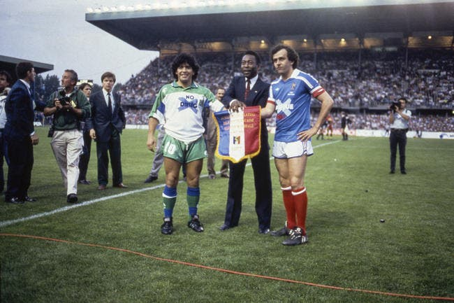 Foot : Platini revient sur Maradona, Zidane et l'orange...