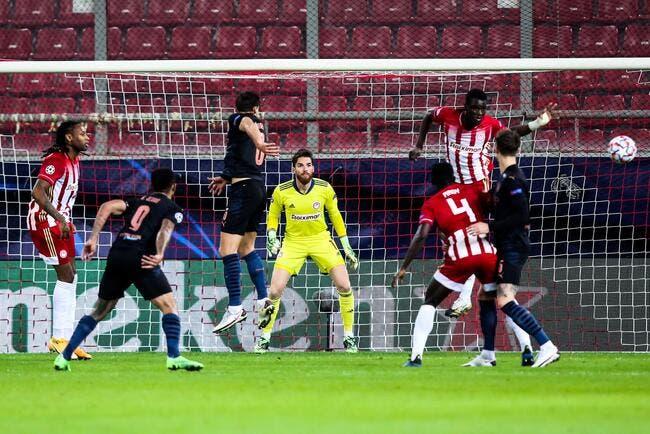LdC : Manchester City se qualifie face à l'Olympiakos