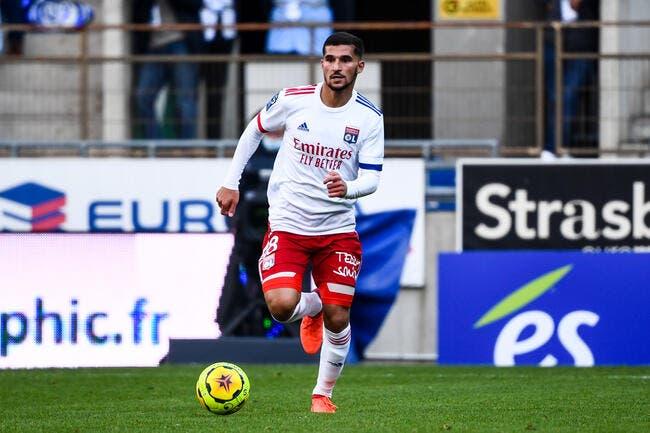 Aouar écarté contre Reims — Lyon