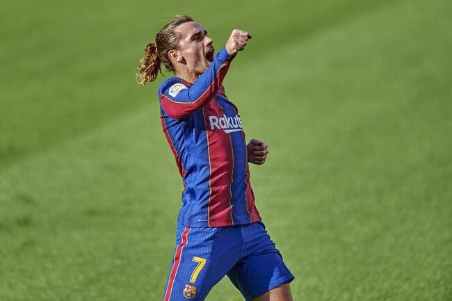 Esp : Barcelone régale, Griezmann et Messi buteurs