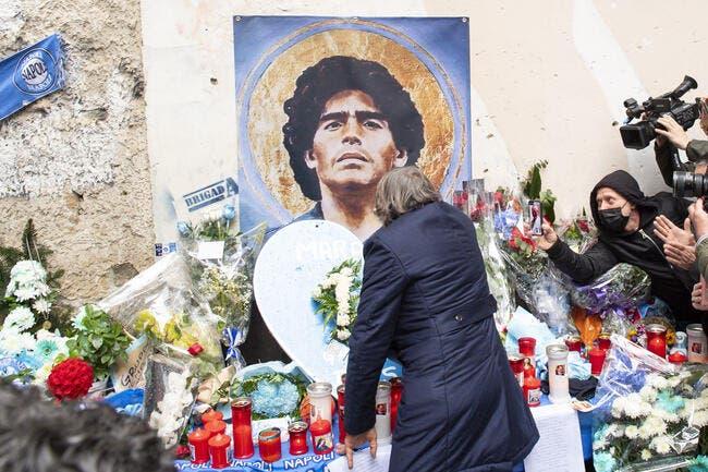 Foot : Le médecin de Maradona inculpé pour homicide involontaire