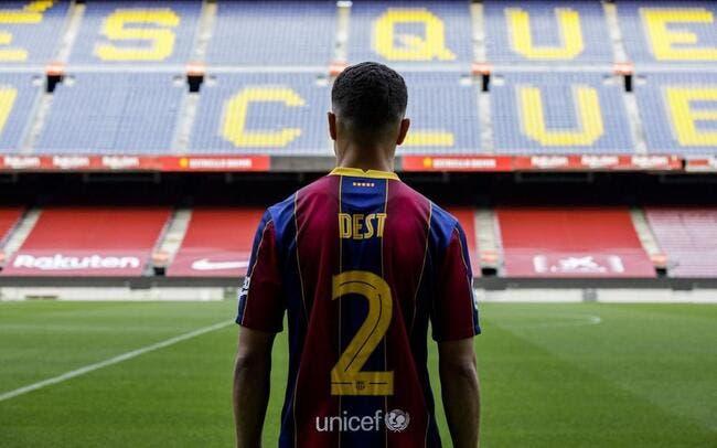 Officiel : Sergino Dest signe au Barça pour 21 ME