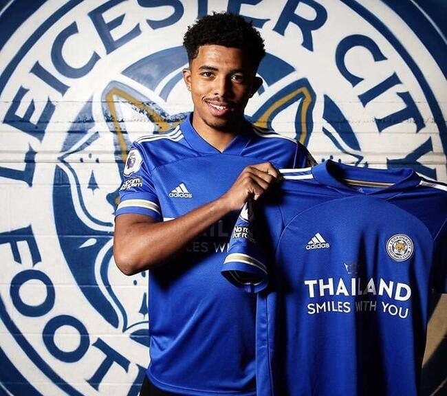 Officiel : Wesley Fofana signe cinq ans à Leicester