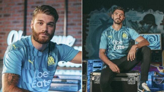 OM : Jaune et bleu, Marseille dévoile son maillot third