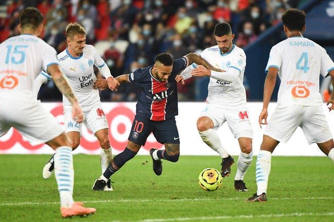 PSG-OM : Alvaro et Neymar épargnés, Vieira accuse Le Graët
