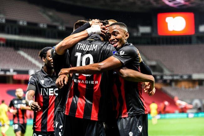 L1 : Nice retrouve le succès face à Nantes !