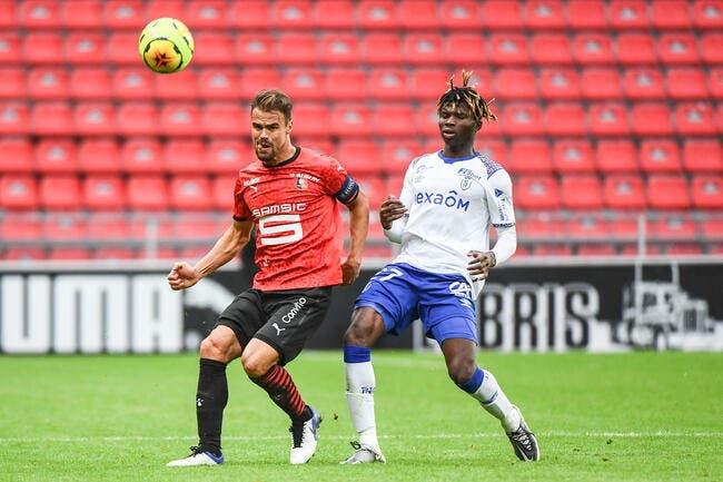 L1 : Rennes perd deux points mais reste leader