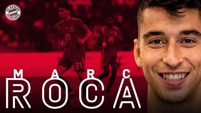 Officiel : Le Bayern lâche 15 ME pour signer Marc Roca
