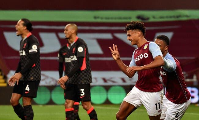 Premier League : 7-2, Liverpool prend une fessée contre Aston Villa !