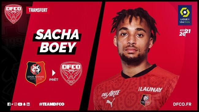 Mercato : Dijon recrute Sacha Boey