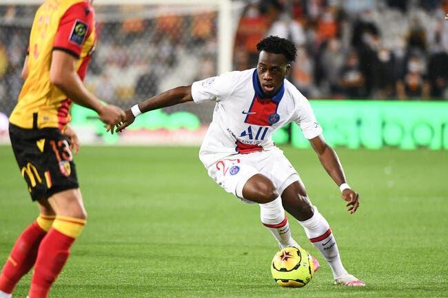 Officiel : Kalimuendo prolonge au PSG et rejoint Lens en prêt