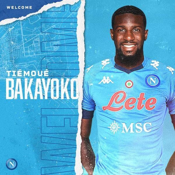 Officiel : Tiémoué Bakayoko prêté à Naples