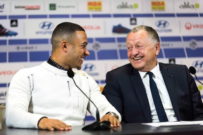 OL : Memphis Depay en janvier au Barça, Lyon ne le retient plus