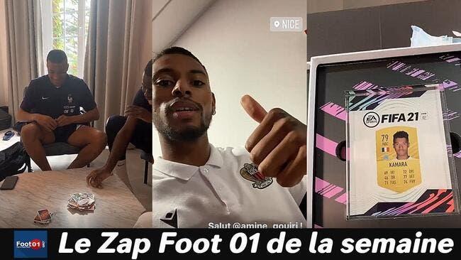 WTF : Les notes de FIFA21 rendent fou, Giroud énerve Mbappé, partie de Uno tendue