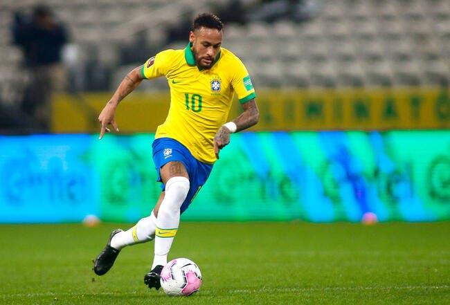 Brésil : Triplé pour Neymar, Marquinhos blessé à la cuisse