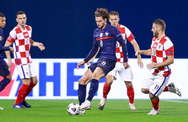 Croatie - France : Les compos (20h45 sur TF1)