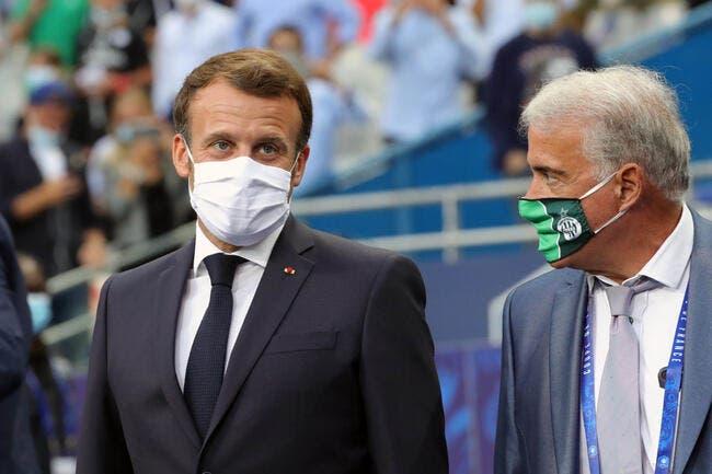 TV : Macron refuse de payer l'addition laissée par Téléfoot !