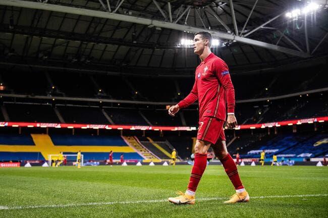 Covid-19: Accusé à tort, Cristiano Ronaldo part en live