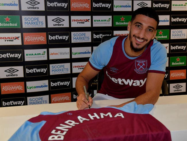 Officiel : Saïd Benrahma débarque en Premier League !