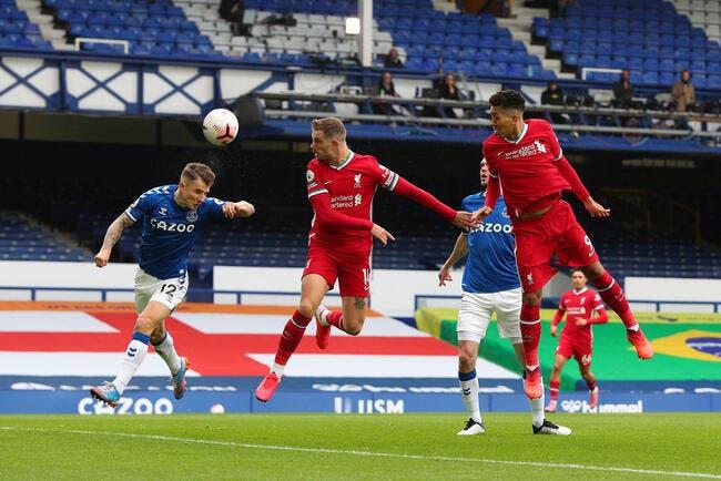 Ang : Everton et Liverpool se neutralisent