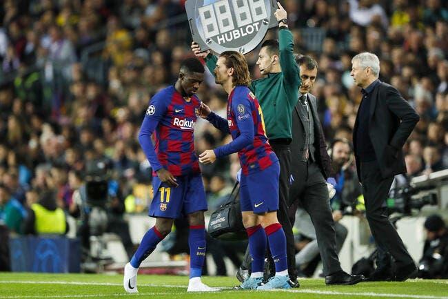 Barça : Dembélé et Griezmann dans le dur, l'Espagne se les paye
